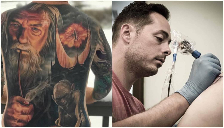 'On je majstor za 3D': Njegove tetovaže izazivaju vrtogavicu
