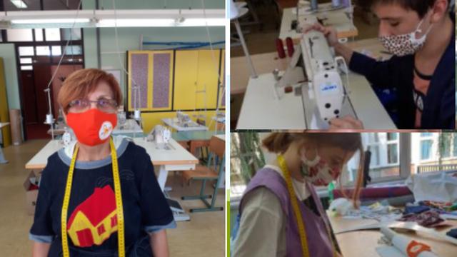 Učenici Srednje strukovne škole iz Vinkovaca izrađuju maske za oboljele od multiple skleroze