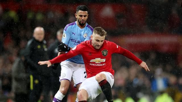 Premier League - Manchester United v Manchester City