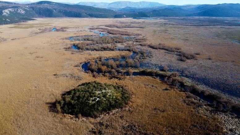U Parku prirode Hutovo Blato požar progutao 10 hektara zaštičenog močvarnog područja