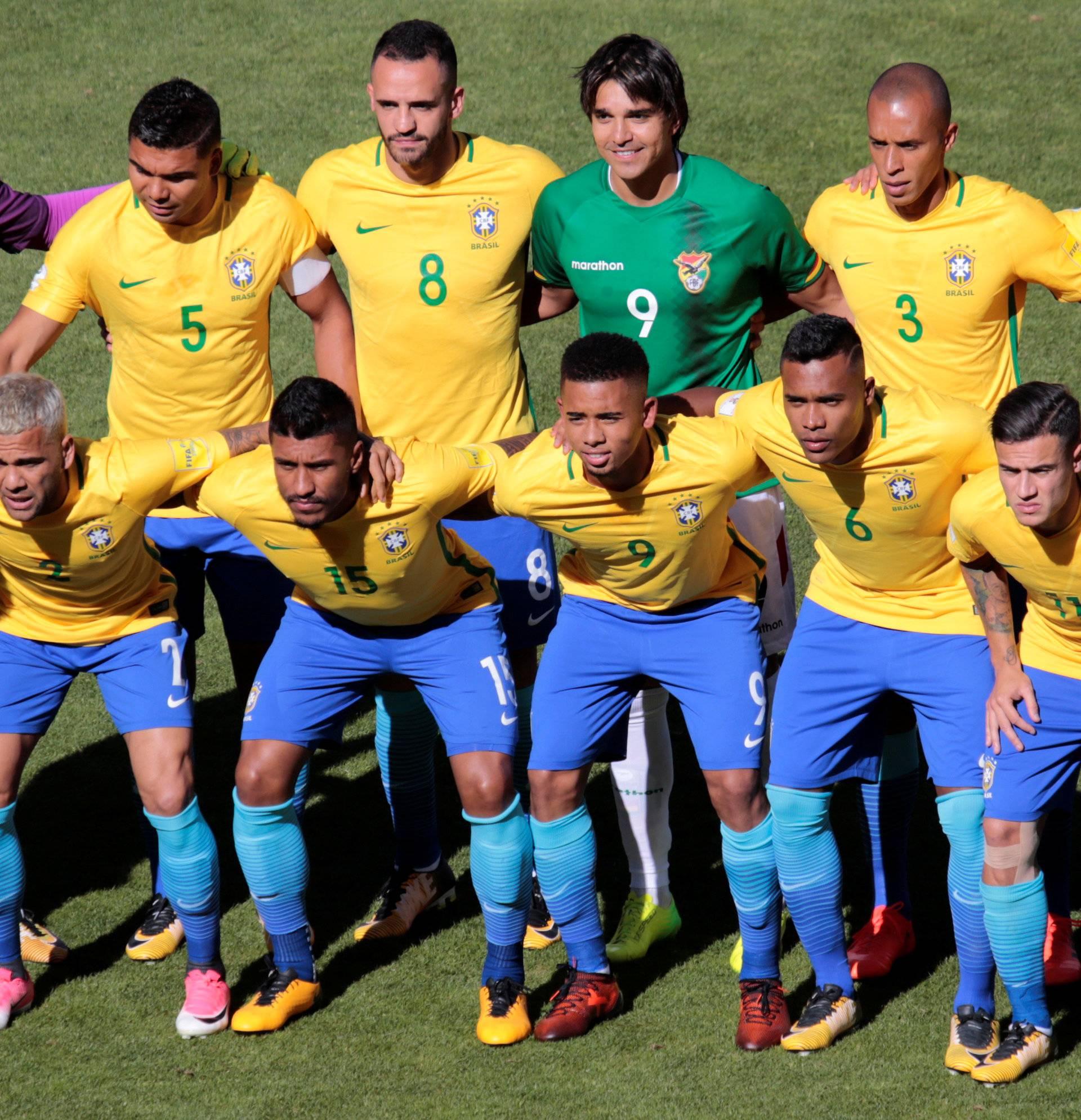 2018 World Cup Qualifications - South America - Bolivia v Brazil