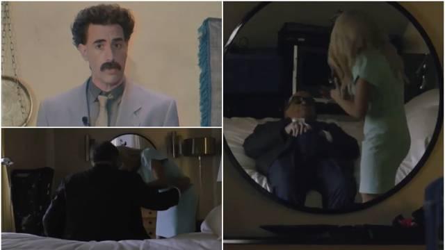 Internetom kruži cijela scena s Trumpovim odvjetnikom, Borat je objavio službenu reakciju...