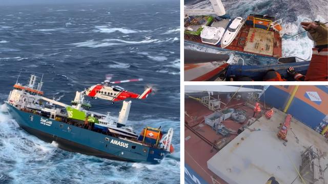 Teretnom brodu kod Norveške prijeti potonuće, na njemu su i brodovi iz naših brodogradilišta