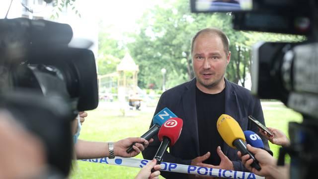 Zagreb: Zamjenik gradonačelnika, Luka Korlaet, komentirao veliki požar u Trnskom