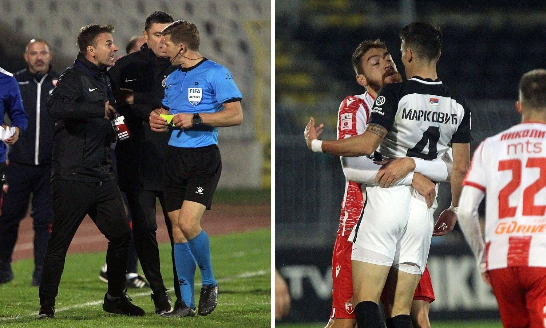 Kaos u Beogradu: Partizanovi navijači prerušili se u fotografe pa gađali Zvezdina golmana