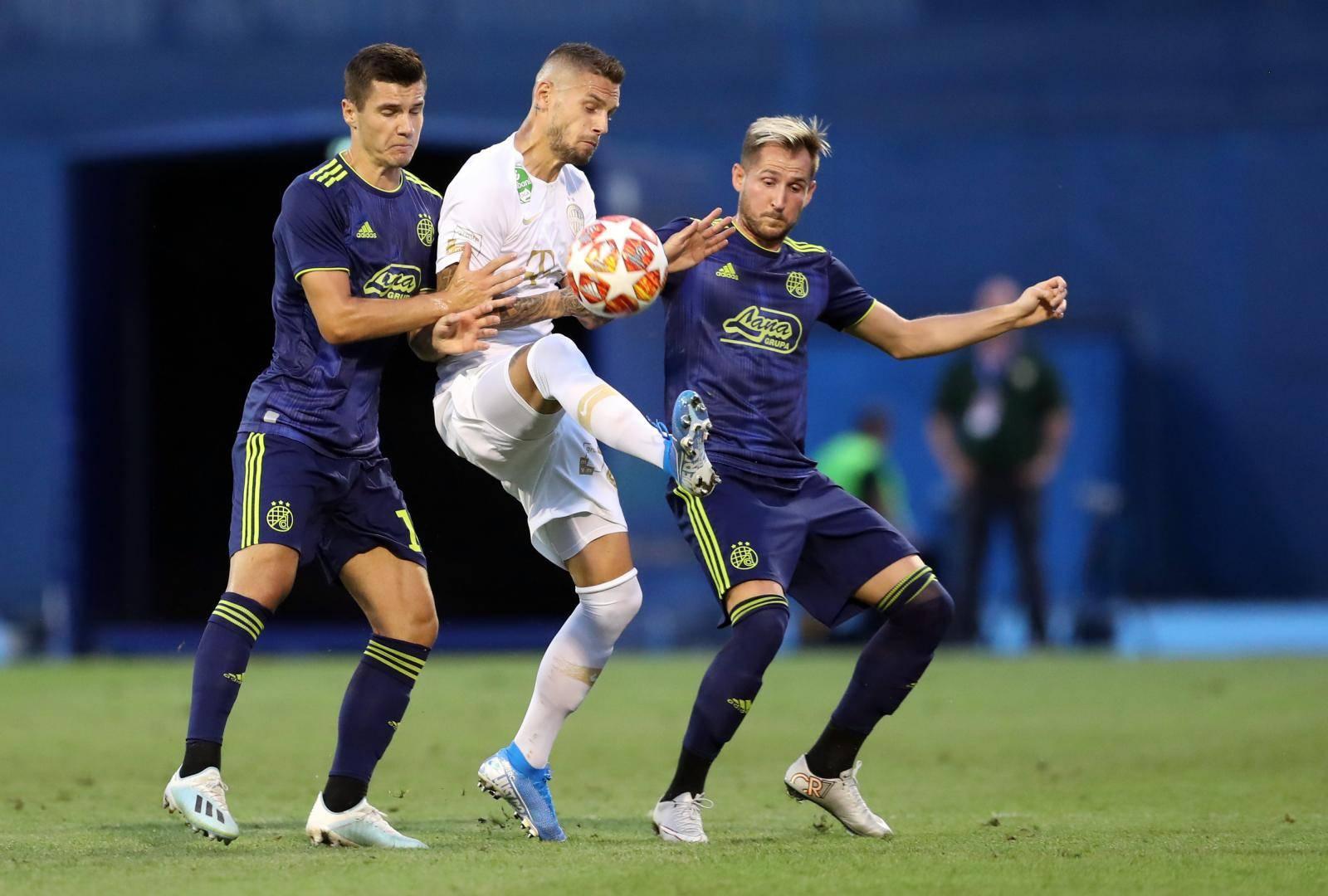Zagreb: Prva utakmica 3. pretkola Lige prvaka između Dinama i Ferencvaroša