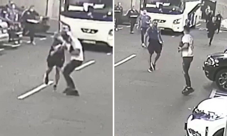 Procurila snimka incidenta: Evo kako je Grezda udario Čolaka