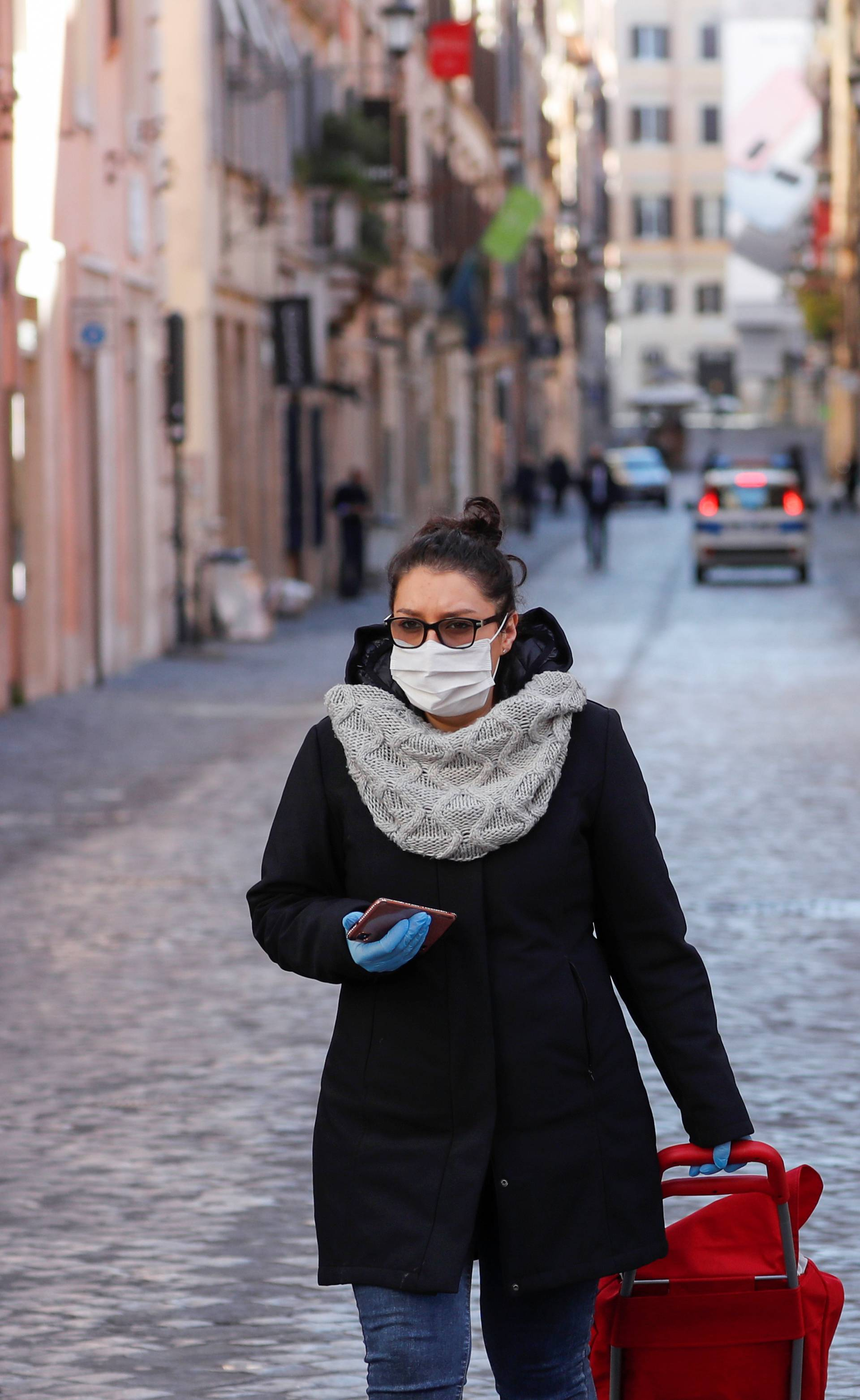 Day three of Italy's nationwide coronavirus lockdown, in Rome