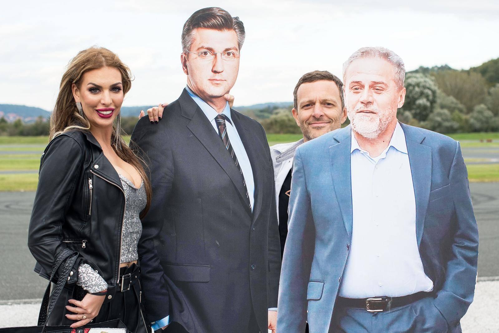 Ava Karabatić pitala Šebalja: Budi moj vozač na Pantovčaku