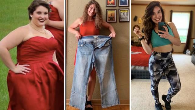Neprepoznatljiva: Postila je te u 14 mjeseci skinula 50 kilograma