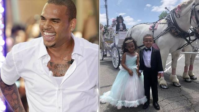 Chris Brown potrošio 190.000 kuna za kćerin 4. rođendan