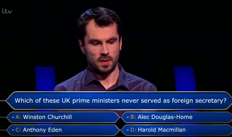 U Milijunašu otvorili pitanje za milijun funti nakon 13 godina
