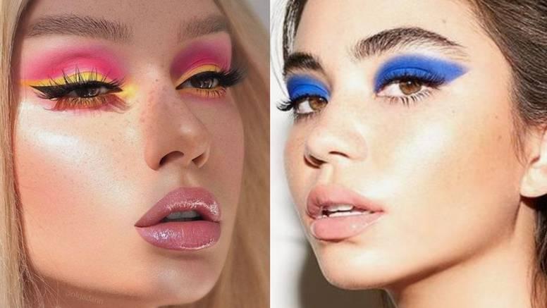 Sve boje lica: Super kreativne make-up igre s jarkim bojama i moćnim efektima za party stil