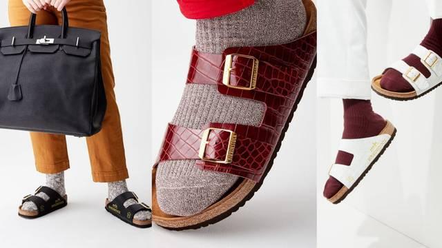 300.000 kuna za retro papuče: Bierkenstock model od stare torbe s potpisom Hermès