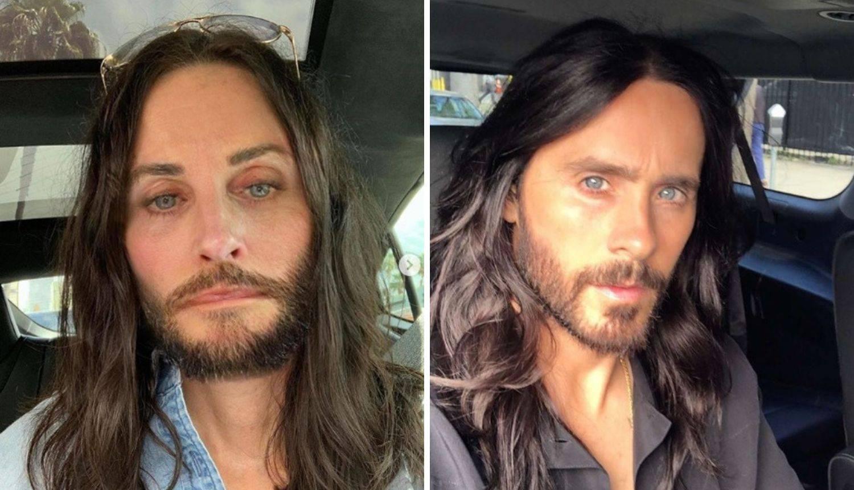 Jared Leto i Courteney Cox su kao blizanci: 'Baš prekrasno'