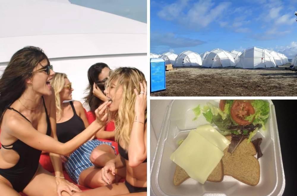 'Obećali su nam  vile i delicije, a dobili smo mokre šatore i tost'