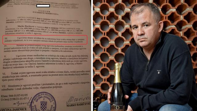 Dobar posao: Otac zaposlenika općine trampio svoje puteljke za općinsko zemljište kraj mora