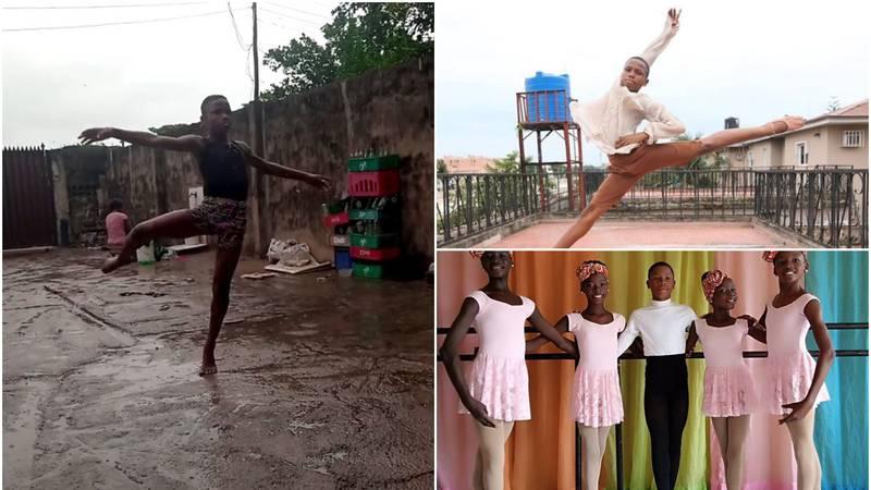 Dobio je stipendiju plesne škole u New Yorku nakon što je na kiši otplesao balet i to bosonog