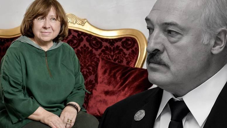 Jedina bjeloruska nobelovka: Očito je da Lukašenku nedostaje povijesni simbol poput Staljina