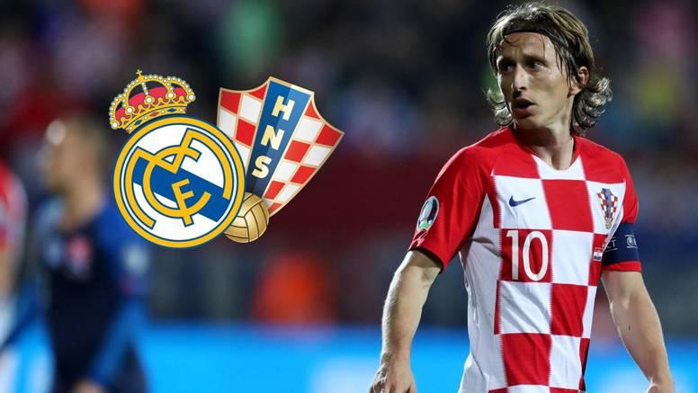 HNS potvrdio: Luka se vratio u Madrid, propustit će Gruziju...