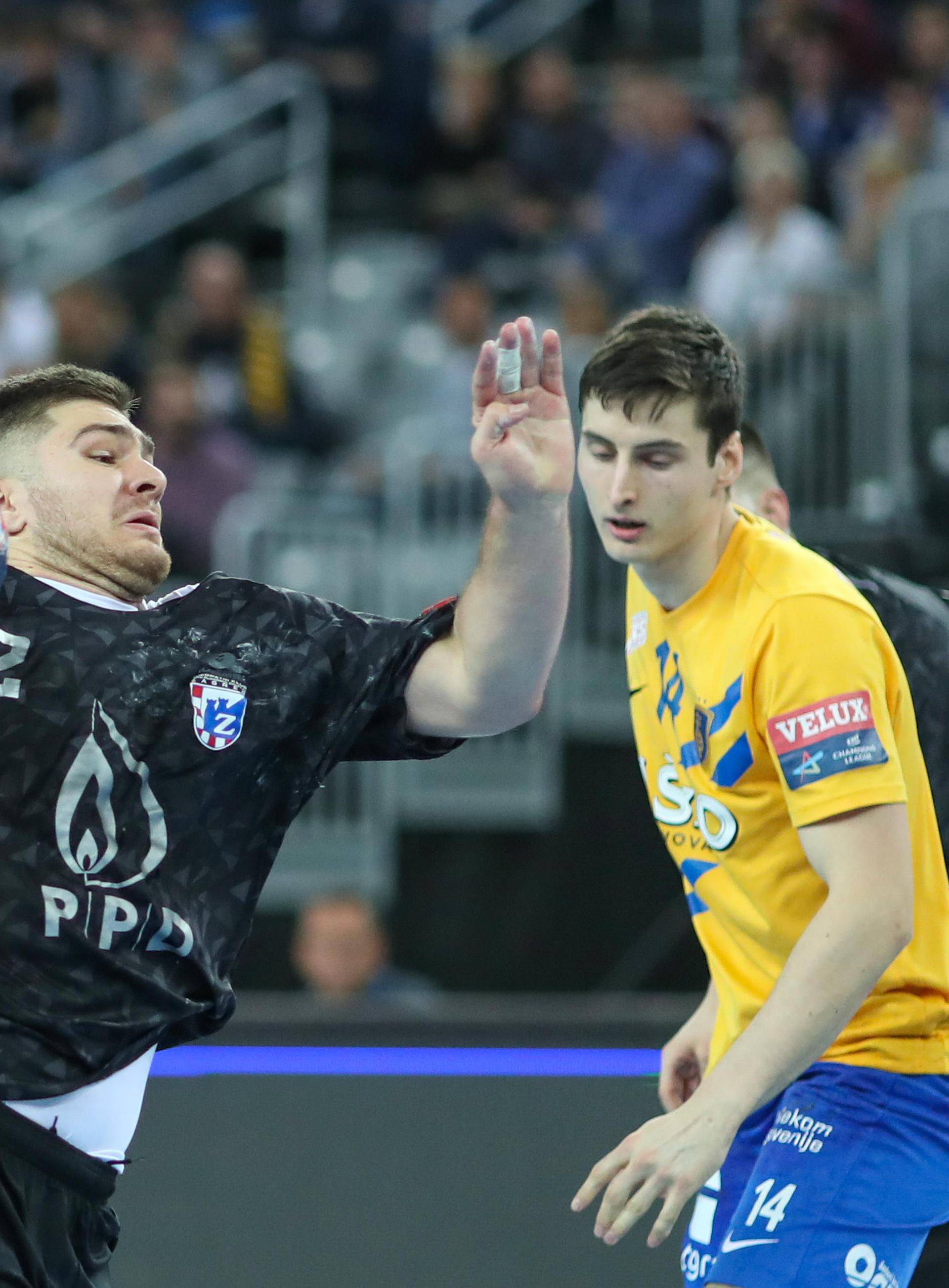 PPD Zagreb i RK Celje Pivovara Laško sastali se u 8. kolu EHF Lige prvaka