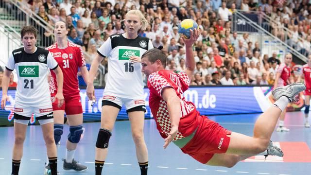 Handball Laenderspiel / World Cup Qualification / Germany - Croatia 25:21.