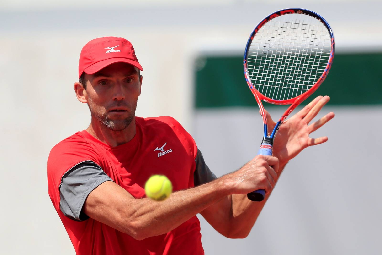 FILE PHOTO: Croatia's Ivo Karlovic at Roland Garros, Paris, France - May 27, 2018