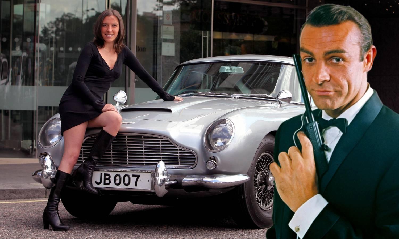 Strojnica je - dodatna oprema: Prodali su kultni Bondov auto