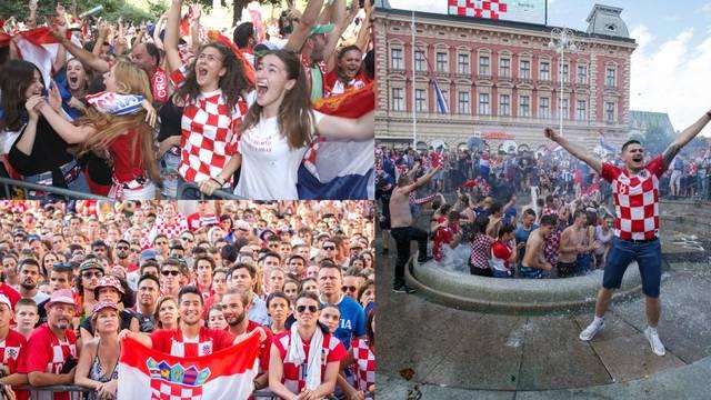 Ponos i suze diljem Hrvatske: 'Ma vi ste za nas ipak prvaci!'