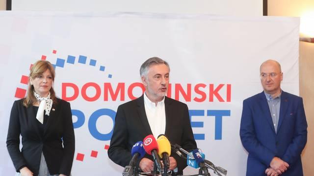 Zagreb: Konferencija za medije Domovinskog pokreta