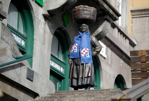 Zagreb: Kumica na Dolcu spremna za utakmicu Dinama i Krasnodara