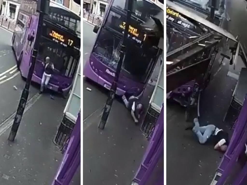 Strašno: Bus 'pokupio' pješaka, muškarac ustao i ušetao u pub