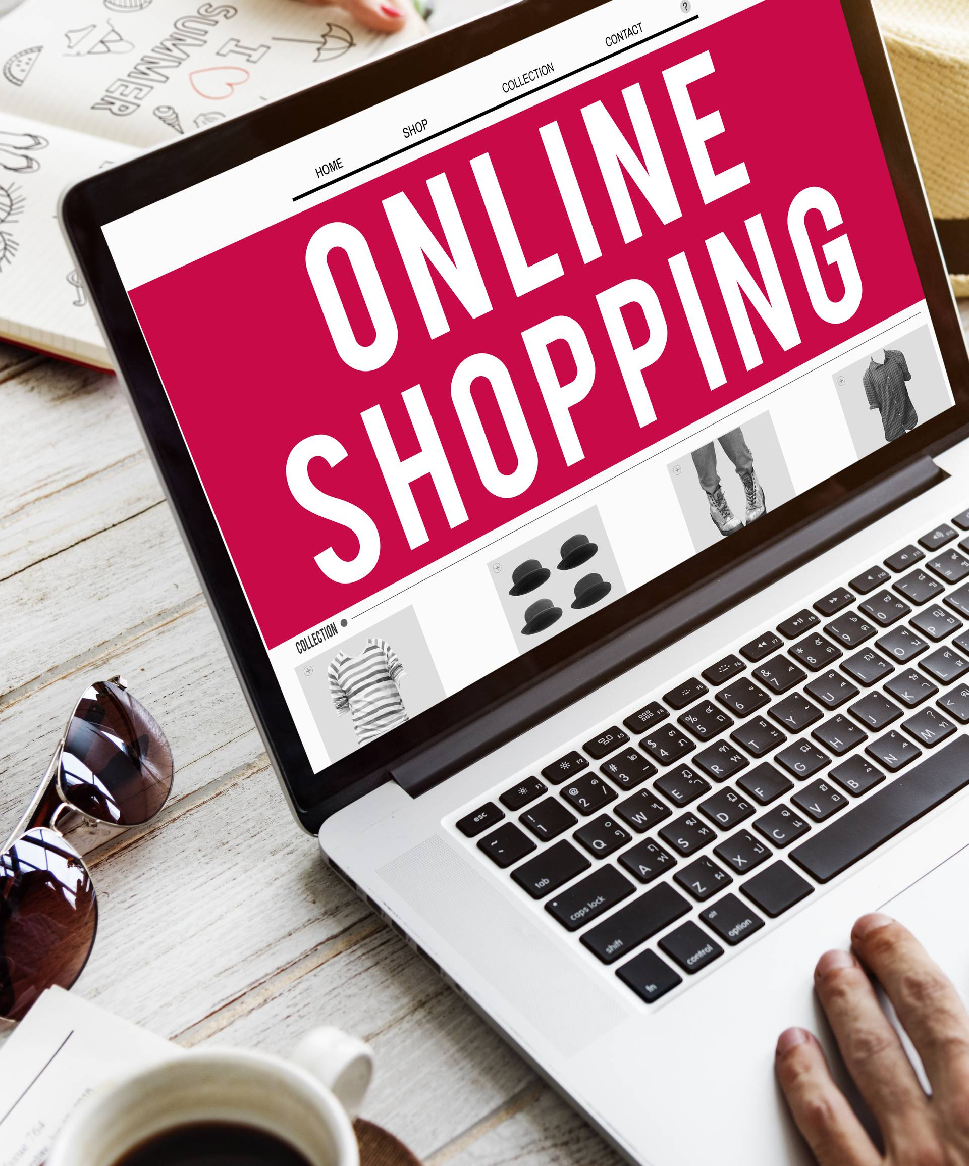 Shopping Online Consumerism Connection Sale Concept