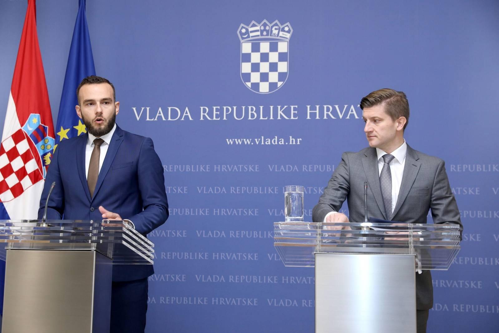 Zagreb: Konferencija za medije na sjednice Vlade