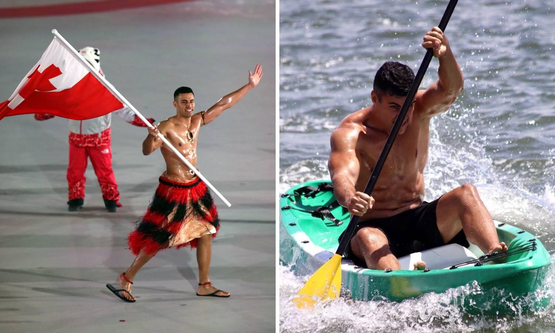 Tongaška nauljena zvijer želi na OI u dva različita sporta...