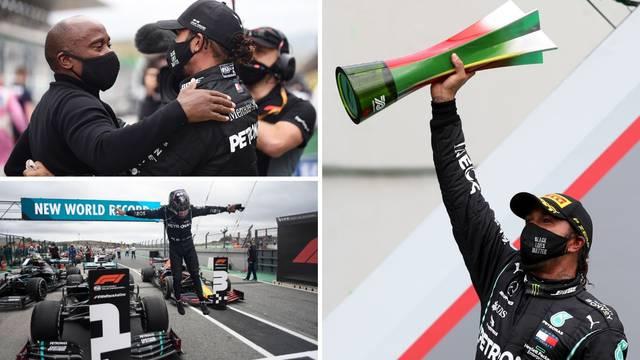 Hamilton srušio Schumachera