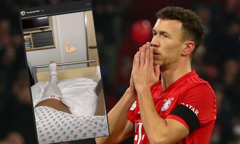 Perišić se javio nakon ozljede: Objavio je bandažirani gležanj