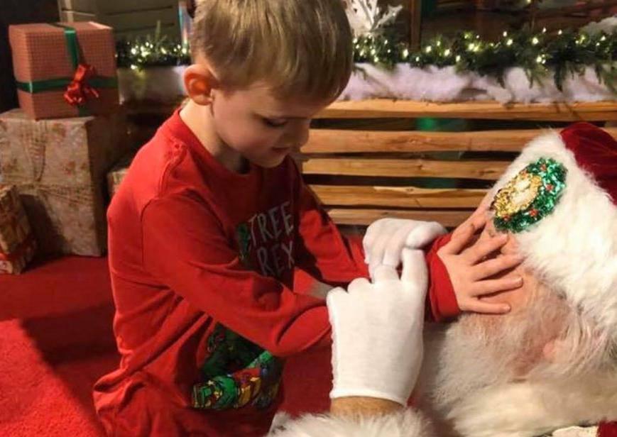 Slijepom i autističnom dječaku Djedica je ispunio najveću želju