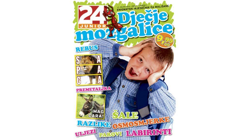 24junior Dječje Mozgalice, rebusi i igrice za bistre klince!