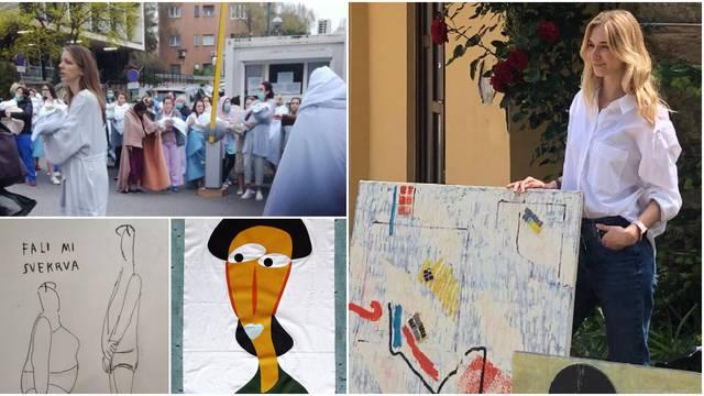 Lucia i umjetnici skupljaju novac za Petrovu: 'Slike mladih mama nakon potresa su me potresle'