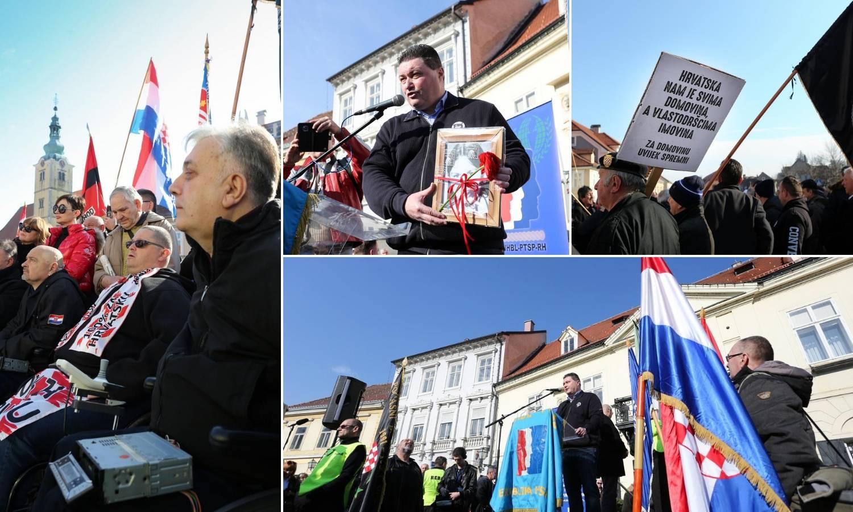Prosvjed protiv Beljaka: Đuro Glogoški došao s autoradijem