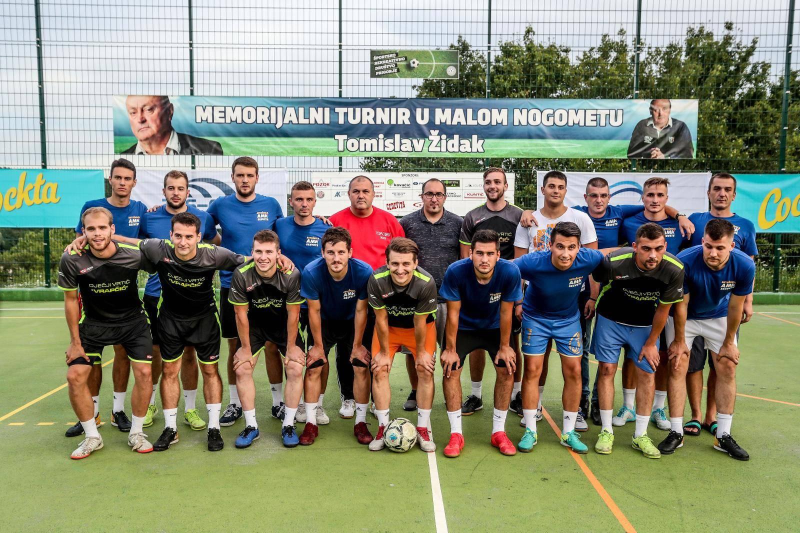 Zagreb: Finale malonogometnog turnira Tomislav Židak