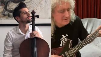 Šulić zasvirao 'pored' gitarista grupe Queen: 'Ovo je moj idol'