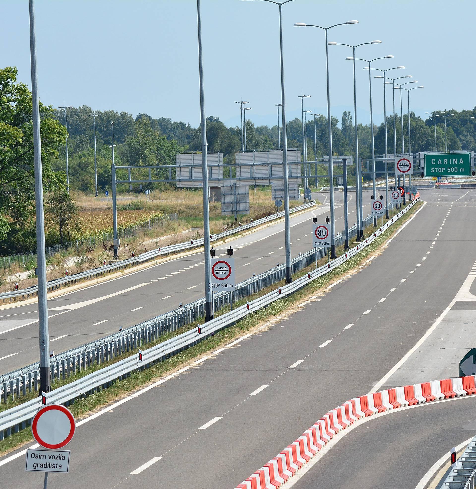 Sustigla ga policija: Po cesti A3 Nijemac jurio 236 na sat