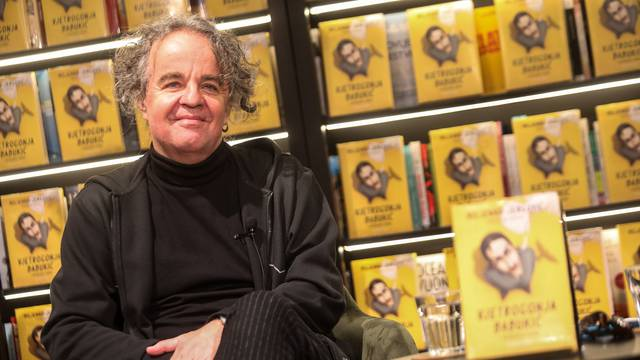 Jergović predstavio novi roman, Edo Maajka ga pohvalio: 'On je jedan od najvećih književnika'