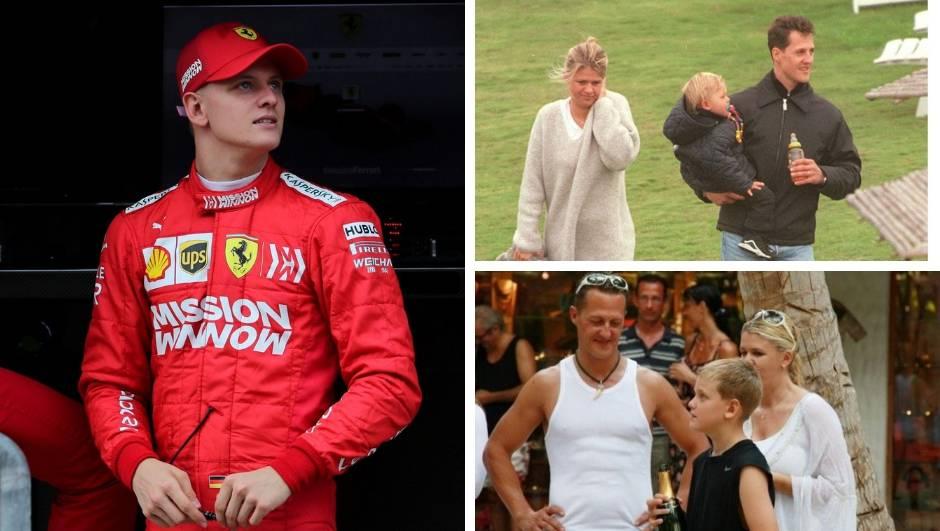Mick? Isti je tata Schumacher. Jednog dana će biti šampion