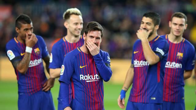 La Liga Santander - FC Barcelona vs Deportivo de La Coruna