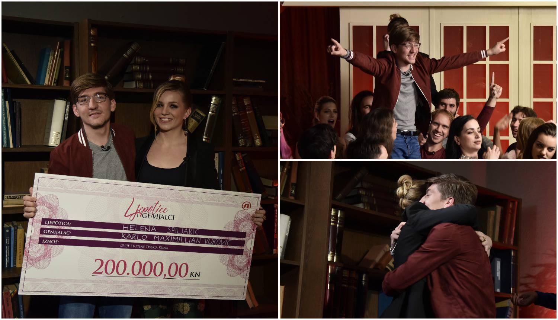 Karlo i Helena prvi pobjednici showa: Osvojili 200.000 kuna