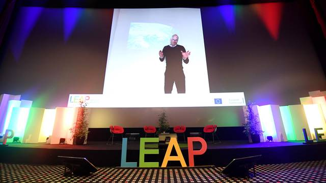 Zagreb: Predavanje Martina Mosslera na Leap summitu