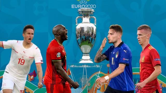 Olmo i Gavro za polufinale Eura, vatreni sudar Belgije i Italije!